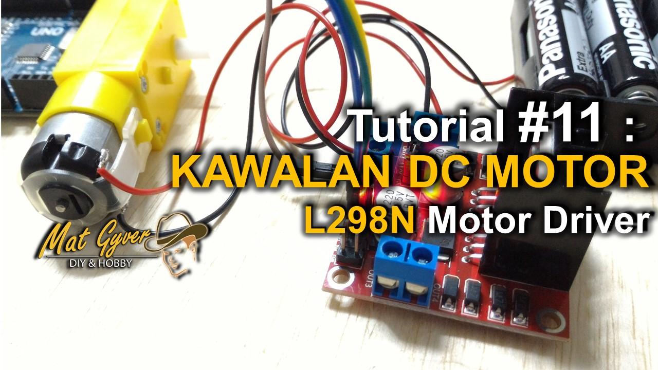 KAWALAN DC MOTOR - CF