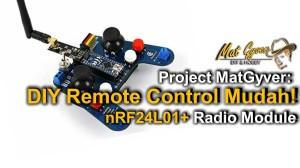 nRF24 DIY Remote Control - CF